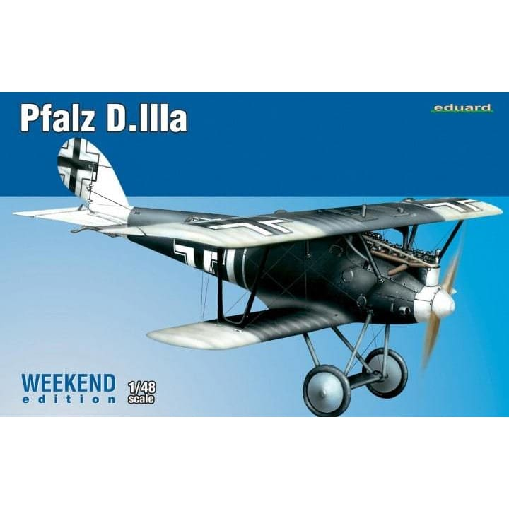 Eduard 8417 1/48 Pfalz D.IIIa Weekend Edition - 1/48 Aircraft