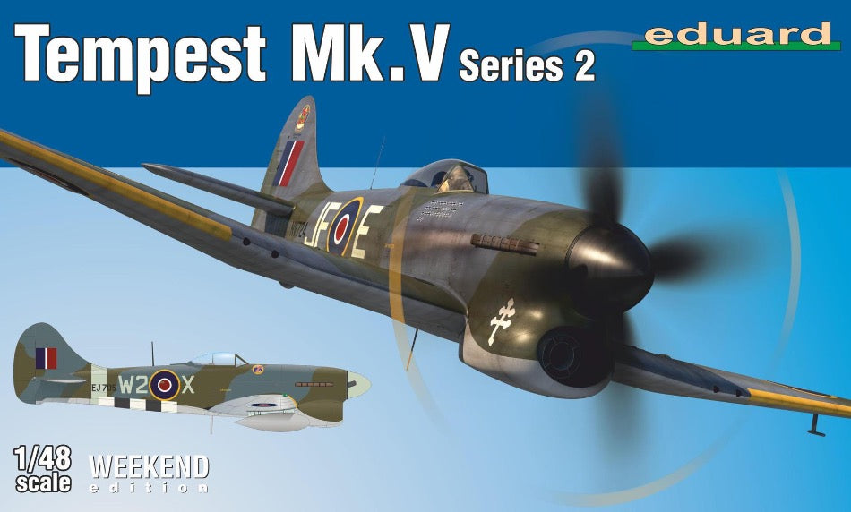 Eduard 84170 1/48 Hawker Tempest Mk. V Series 2 Weekend Edition - BlackMike Models
