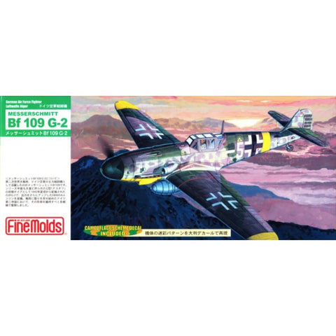 Finemolds FL6 1/72 Messerschmitt Bf109G-2 - BlackMike Models