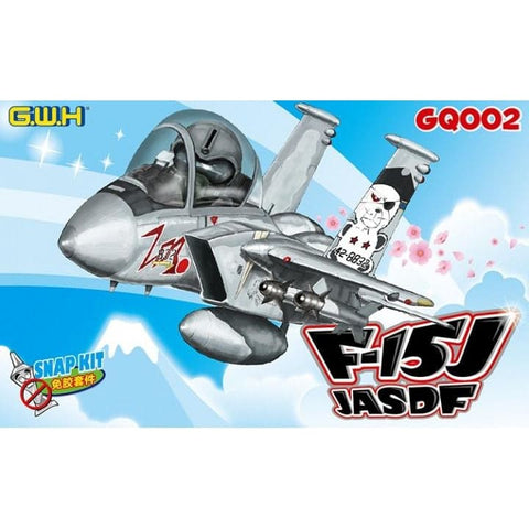 Great Wall Hobby GQ002 F-15J Eagle JASDF snap kit - BlackMike Models