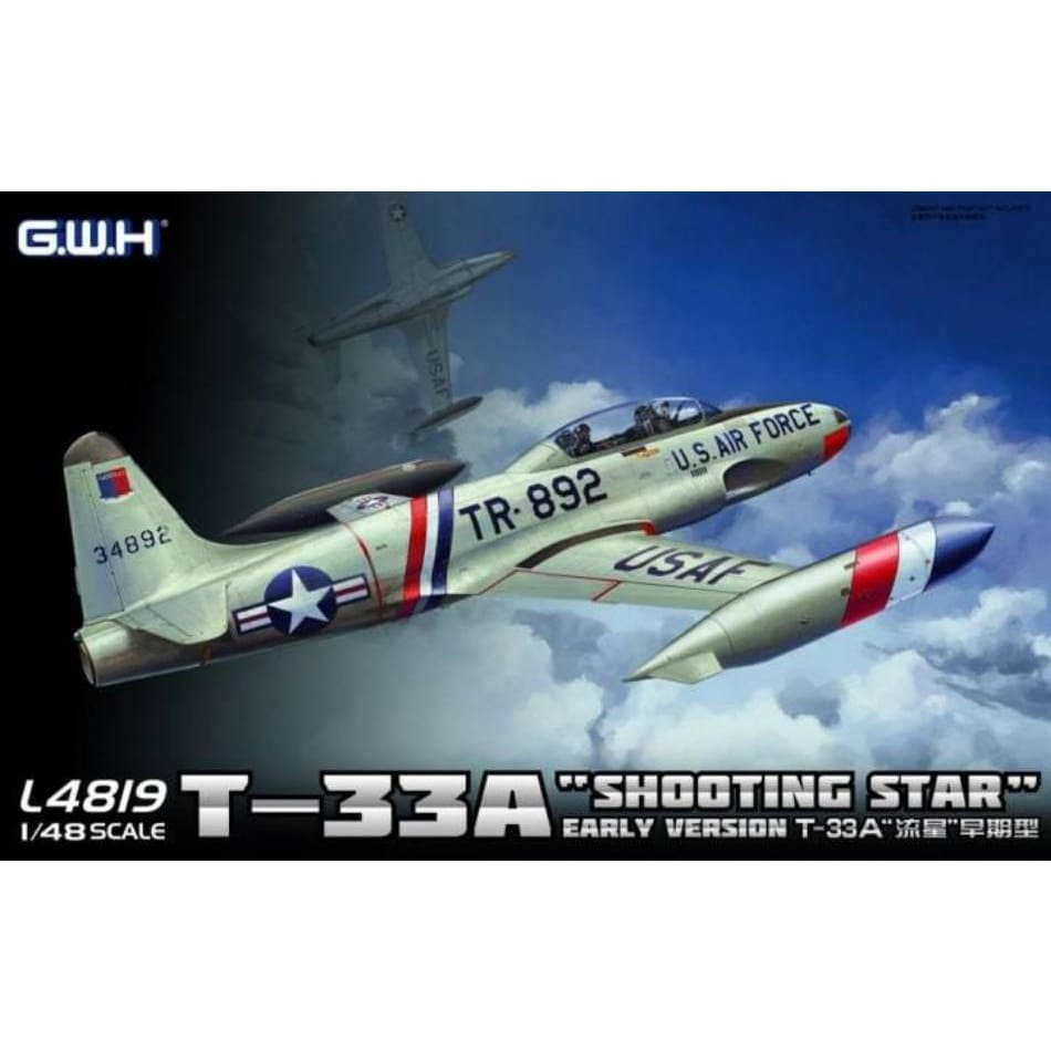 Great Wall Hobby L4819 1/48 T-33A Shooting Star Early Type - 1/48 Aircraft
