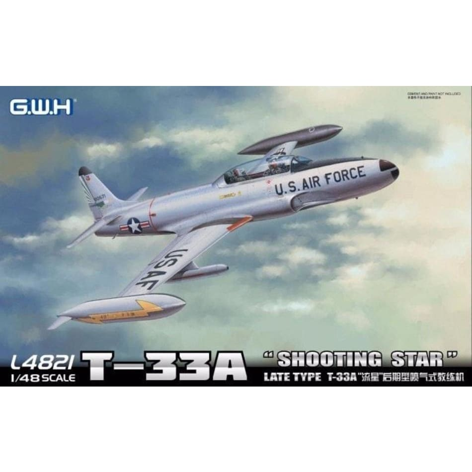 Great Wall Hobby L4821 1/48 T-33A Shooting Star Late Type - 1/48 Aircraft