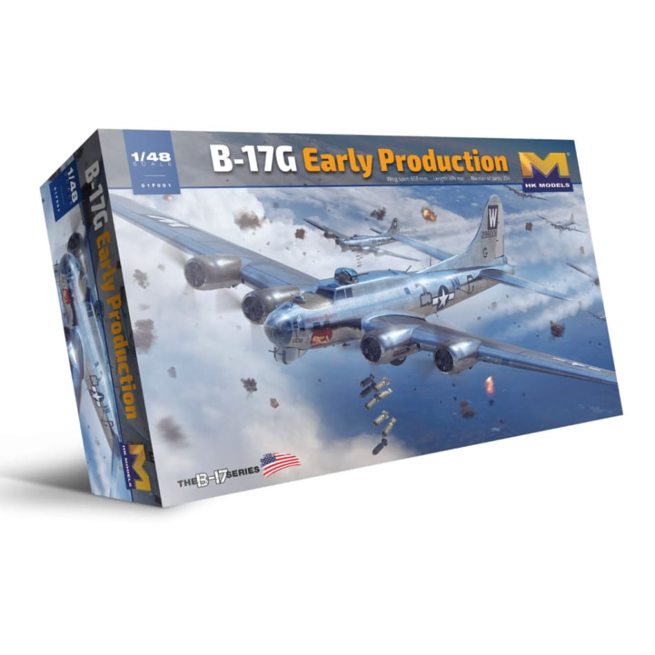HK Models 01F001 1/48 B-17G 'Early Production' Flying Fortress - BlackMike Models
