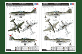 Hobby Boss 80376 1/48 Messerschmitt Me 262 A-2a colour scheme options- BlackMike Models