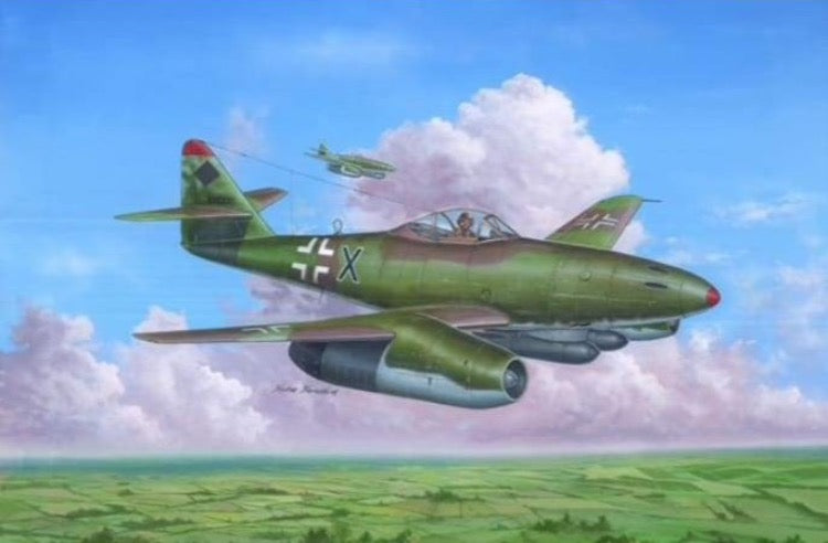 Hobby Boss 80376 1/48 Messerschmitt Me 262 A-2a - BlackMike Models