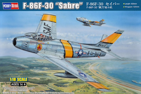 Hobbyboss 81808 1/18 scale F-86F-30 Sabre - BlackMike Models