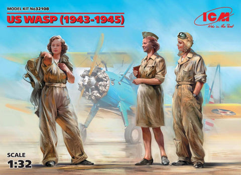 ICM32108 US WASP figures 1943-1945 - BlackMike Models