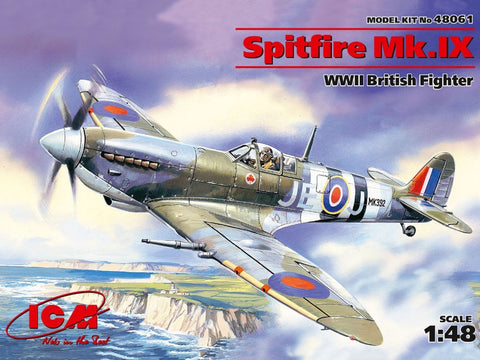ICM 48061 1/48 Supermarine Spitfire Mk.IX WW2 British fighter