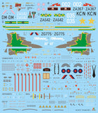 Italeri 1/32 scale Tornado GR4 decal sheet - BlackMike Models