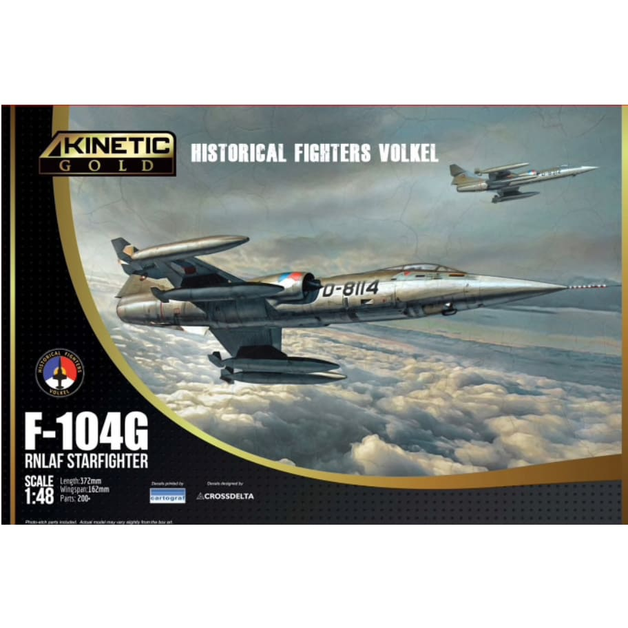 Kinetic K48090 1/48 F-104G Starfighter RNLAF - BlackMike Models