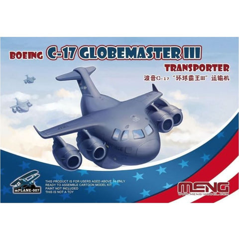 Meng Kids MP-007 Boeing C-17 Globemaster III Transporter - Kids Kits