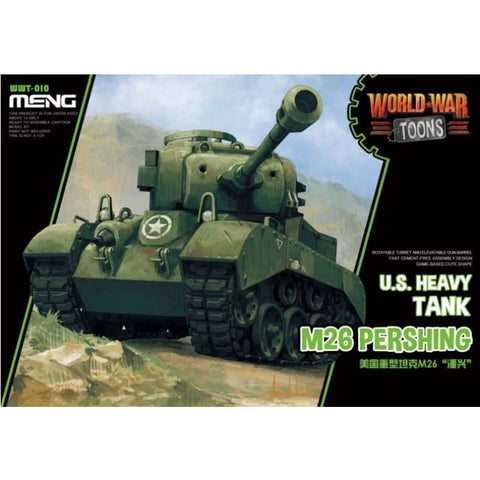 Meng WWT010 US Heavy Tank M26 Pershing World War Toons - Kids Kits