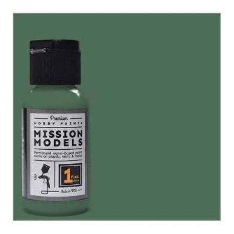 Mission Models MMP-046 German Field Grey RLM80 Acrylic Paint 1oz/30ml - BlackMike Models