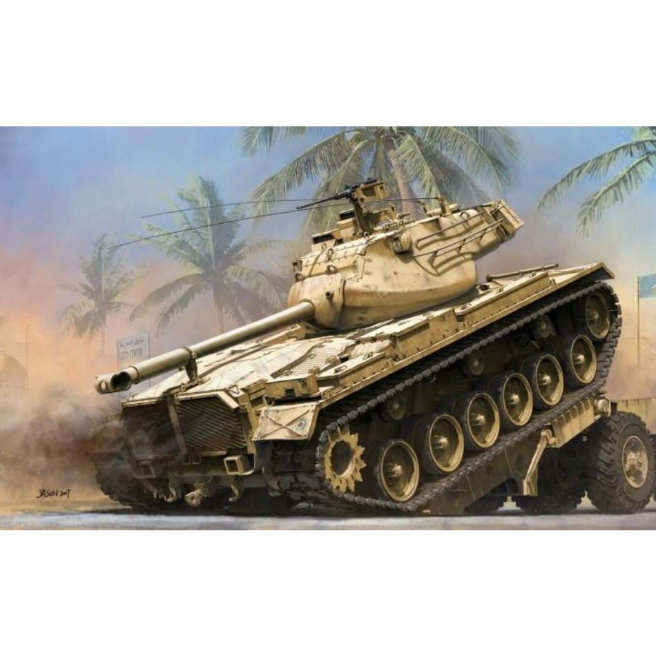 Takom 2072 1/35 Medium Tank M-47 Patton 2 in 1 E & M Versions - 1/35 Military