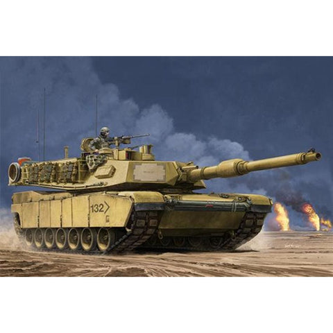 Trumpeter 00927 1/16 US M1A2 Abrams SEP Main Battle Tank - 1/16 Military