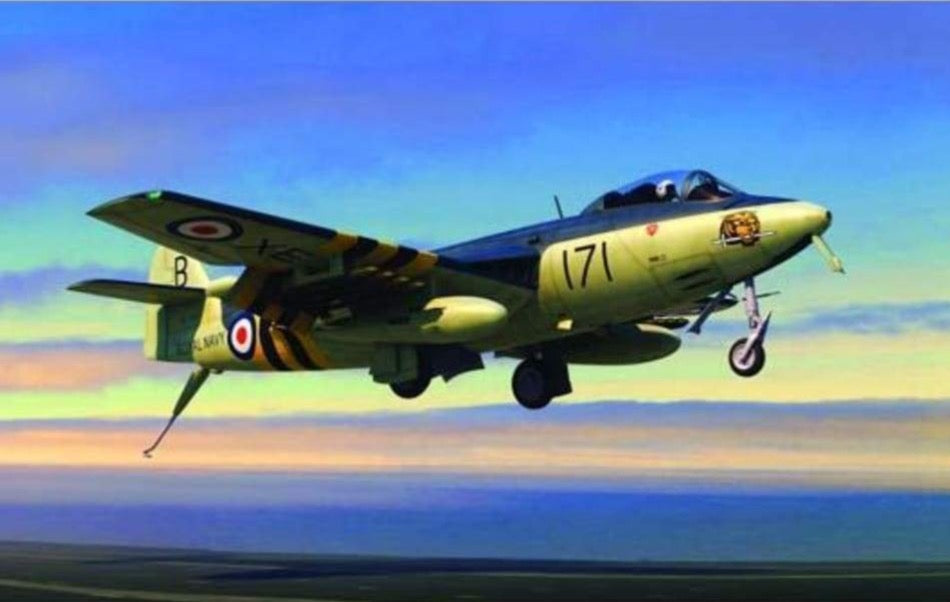 Trumpeter 02826 1/48 Hawker Sea Hawk FGA.6 - BlackMike Models