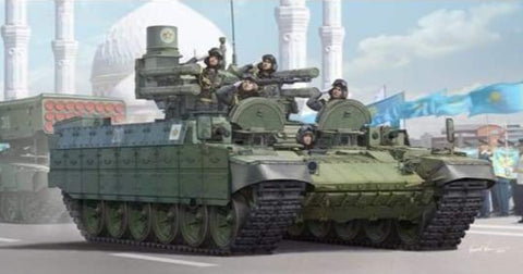 Trumpeter 09506 1/35 Kazakhstan Army BMPT Terminator - 1/35 Military