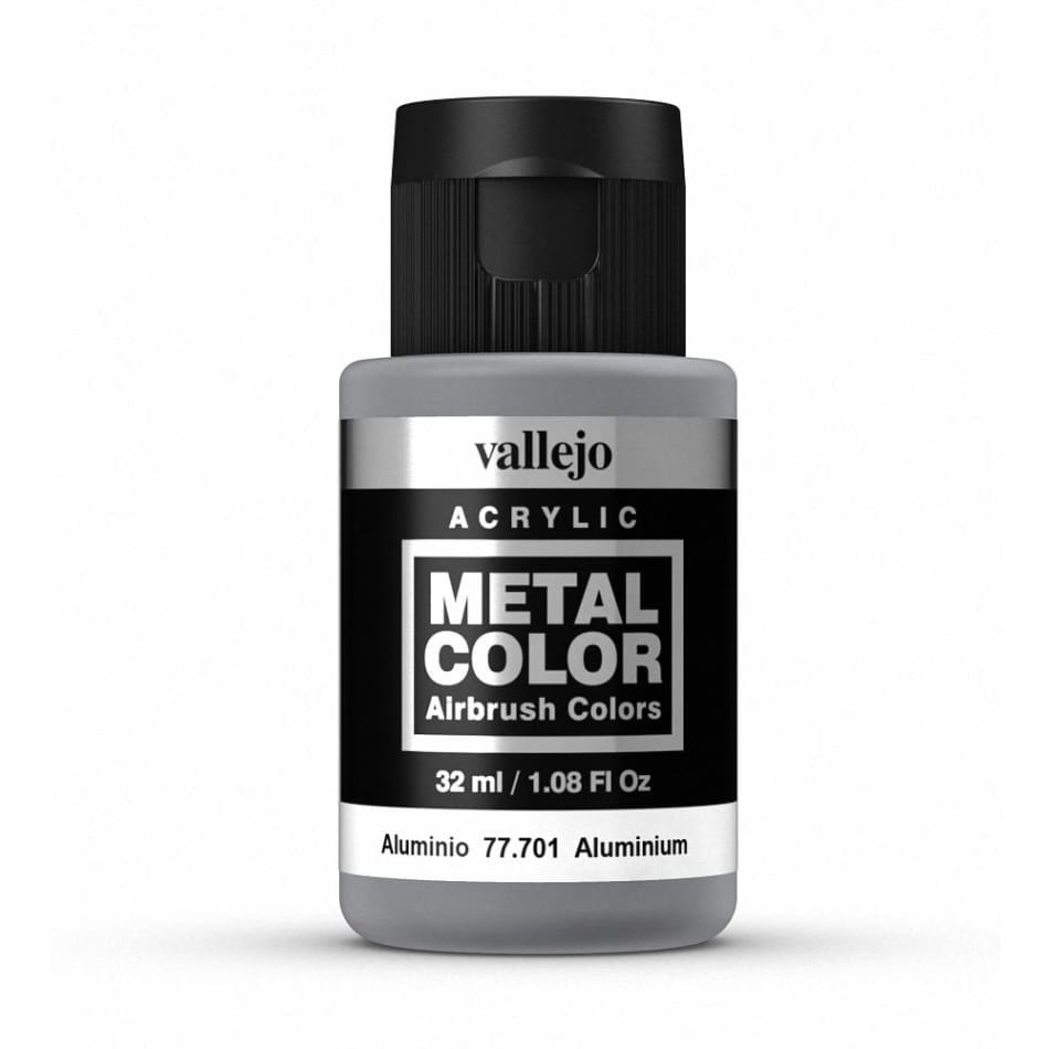 Vallejo 77701 Metal Color - Aluminium 32ml - BlackMike Models
