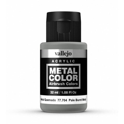 Vallejo 77704 Metal Color - Pale Burnt Metal 32ml - Paints and Varnishes