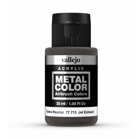 Vallejo 77713 Metal Color - Jet Exhaust 32ml - Paints and Varnishes
