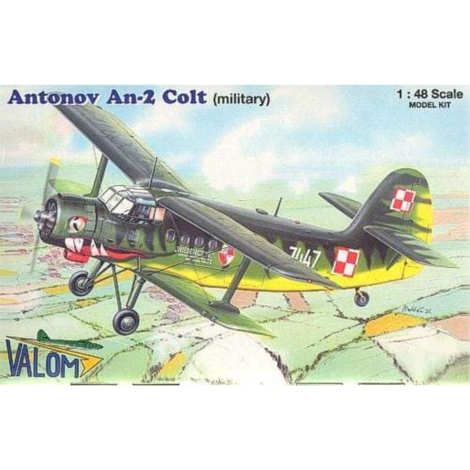 Valom 1/48 48001 Antonov An-2 Colt Military - BlackMike Models
