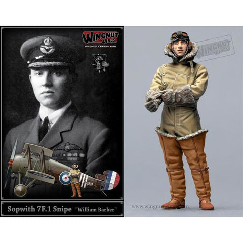 Wingnut Wings 32608 Sopwith 7F.1 Snipe William Barker - 1/32 Aircraft