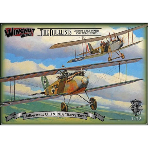 Wingnut Wings 32804 Halberstadt CI.II & RE.8 Harry Tate The Duellists - 1/32 Aircraft
