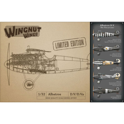Wingnut Wings 32902 Albatros D.V The Bavarians Limited Edition - 1/32 Aircraft