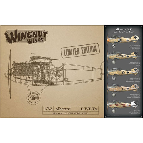 Wingnut Wings 32903 Albatros D.V Wooden Wonders Limited Edition - 1/32 Aircraft