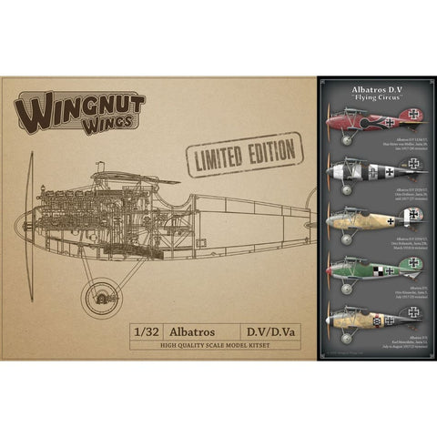 Wingnut Wings 32905 Albatros D.V Flying Circus Limited Edition - 1/32 Aircraft