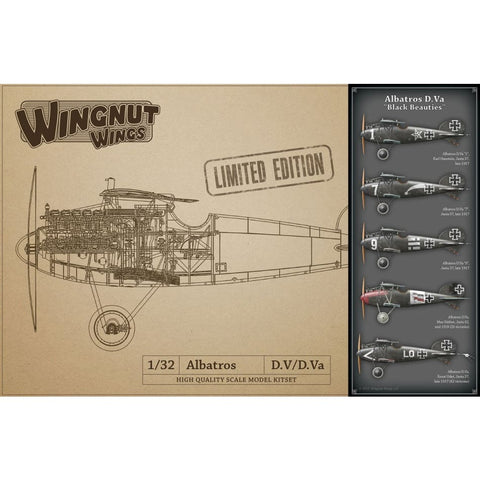 Wingnut Wings 32907 Albatros D.Va Black Beauties Limited Edition - 1/32 Aircraft