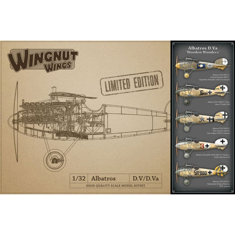 Wingnut Wings 32908 Albatros D.Va Wooden Wonders Limited Edition - 1/32 Aircraft