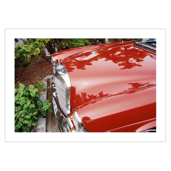Red Mercedes (Bridgehampton, New York)