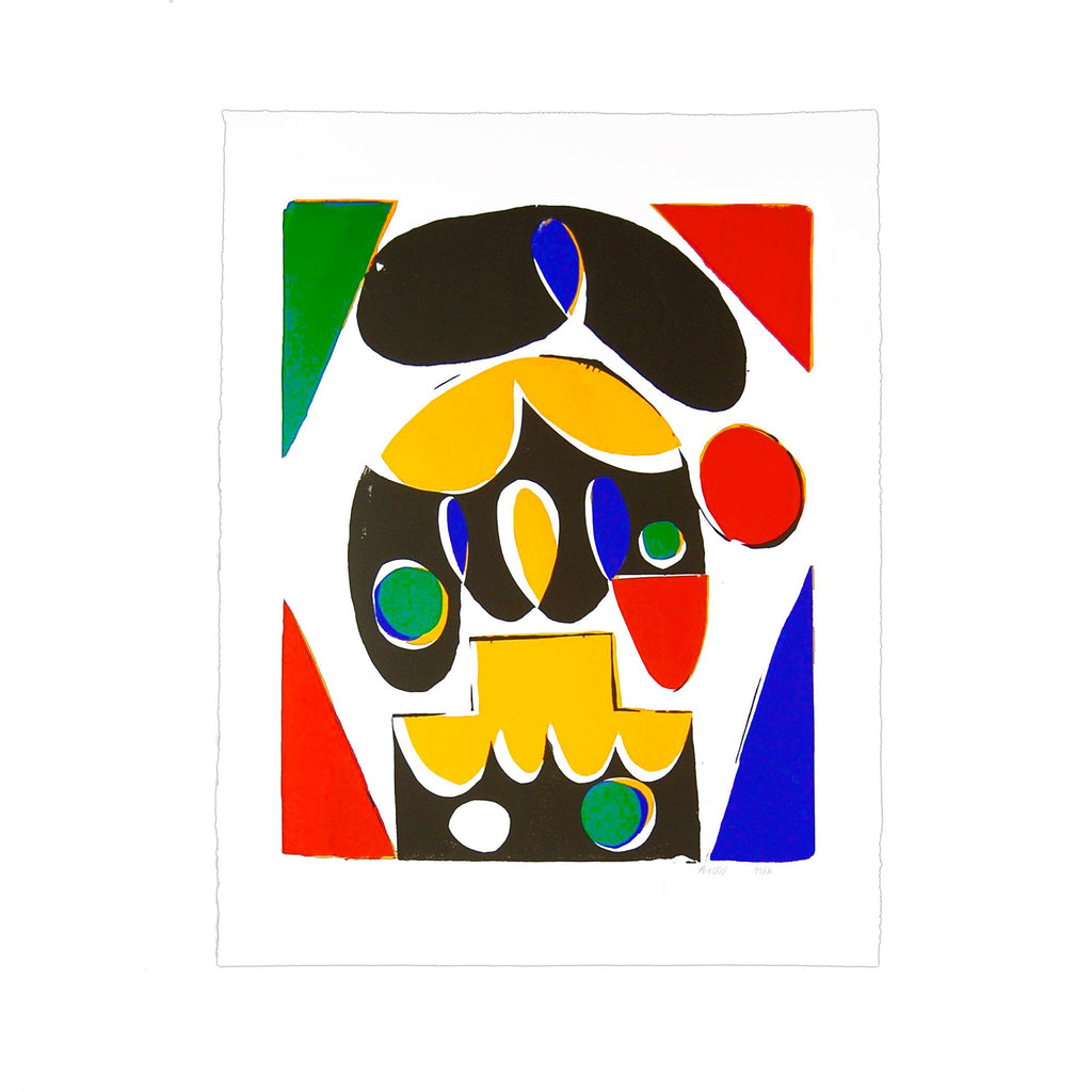Flying-Fingers, City-Face (Yellow, Red, Blue, Green, Black)