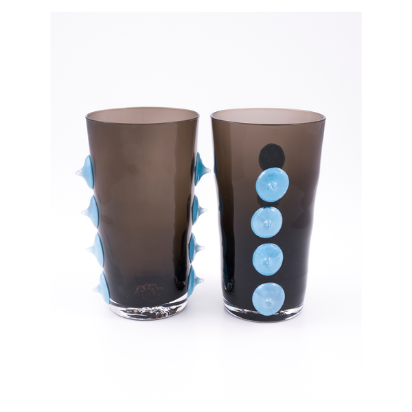 8-bit Water Glass in Wintry Thicket