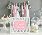 Bridal Shower Table Signs