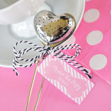 Heart Shaped Tea Infuser for Bridal Shower