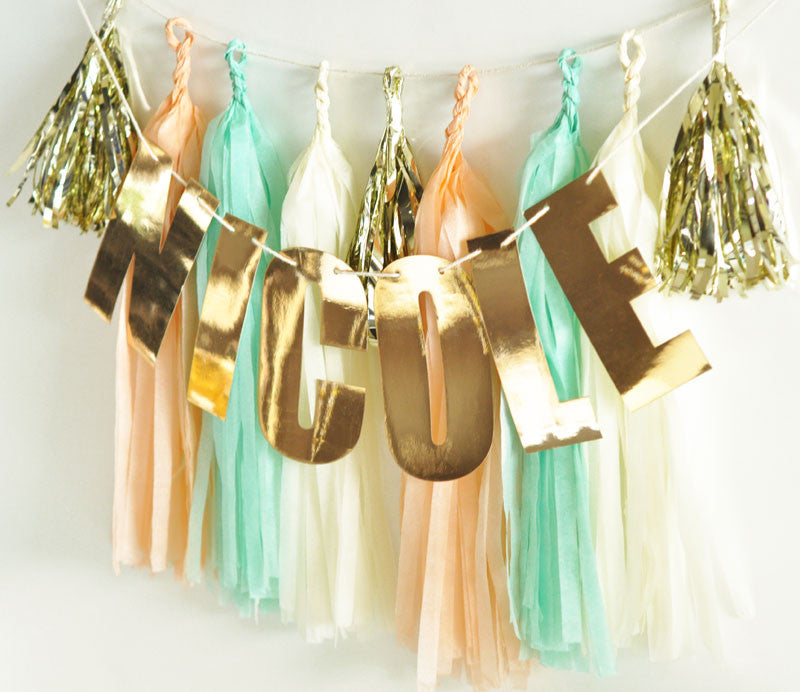 Personalized Letter Garland