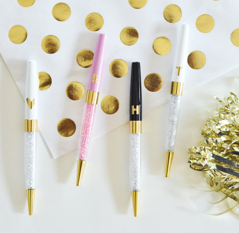 Monogrammed Glossy Pens