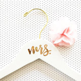 Personalized Hangers for Brides