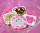Personalized Mint Tins for Bridal Shower Gifts