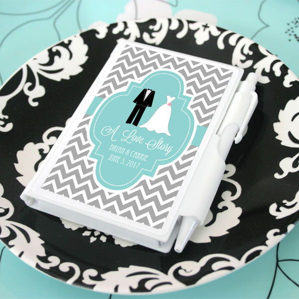 Personalized Notebooks for Bridal Shower