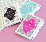 Personalized Notebooks for Bridal Shower Favors