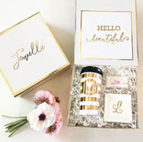 Personalized Travel Coffee Mug in Gift Box