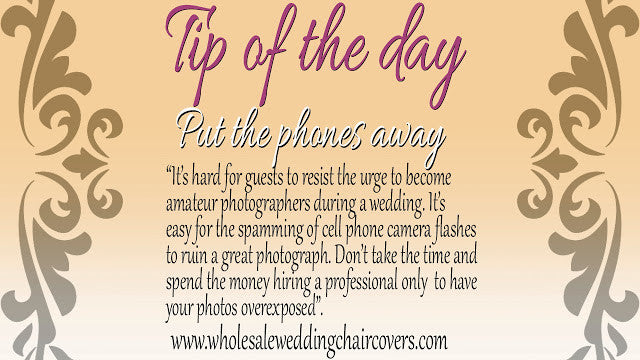 Wedding Cell Phones, A Distraction Or A Blessing?