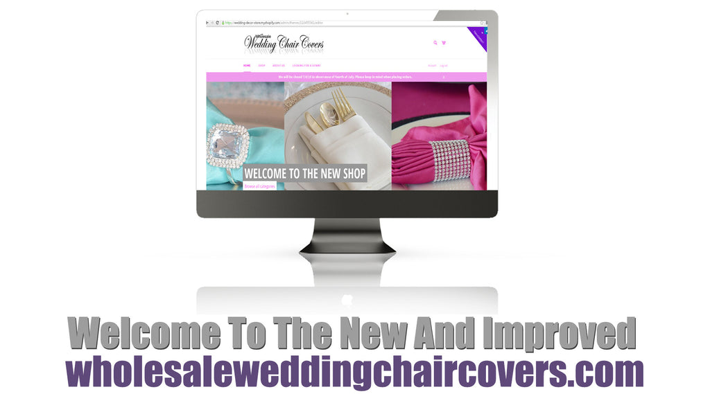 Welcome to the new Wholesale Wedding Chair Covers shop!