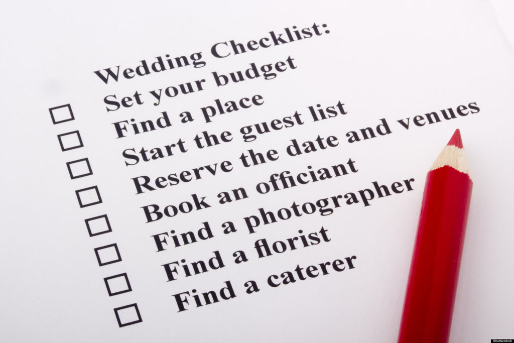 Top 6 DIY Wedding Planning Mistakes