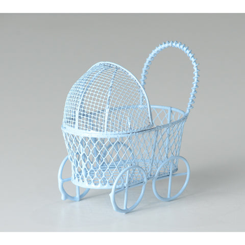 "2.5"" Blue stroller favor - Wholesale Wedding Chair Covers l Wedding & Party Supplies"