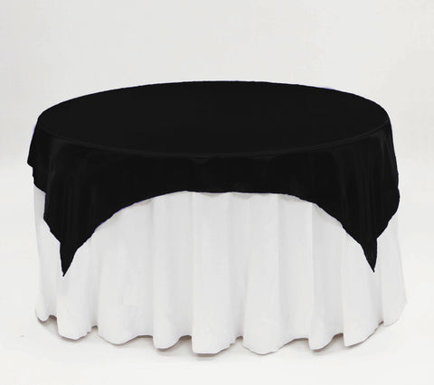 "72"" x 72"" Square - Polyester Table Overlay - Wholesale Wedding Chair Covers l Wedding & Party Supplies"