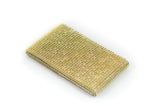 Rhinestone mesh roll 10 yards Gold - Wholesale Wedding Chair Covers l Wedding & Party Supplies